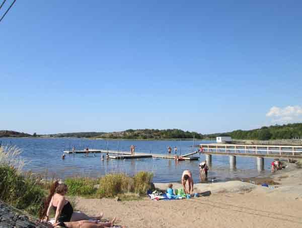 billdal beach