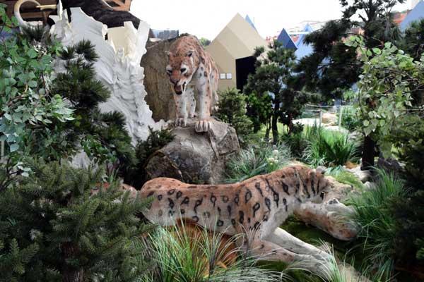 smilodon or sableteeth tiger