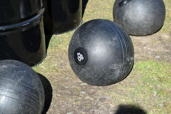 80 kg otymplig boll