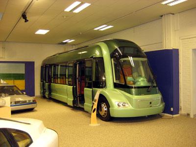 an environmental bus
