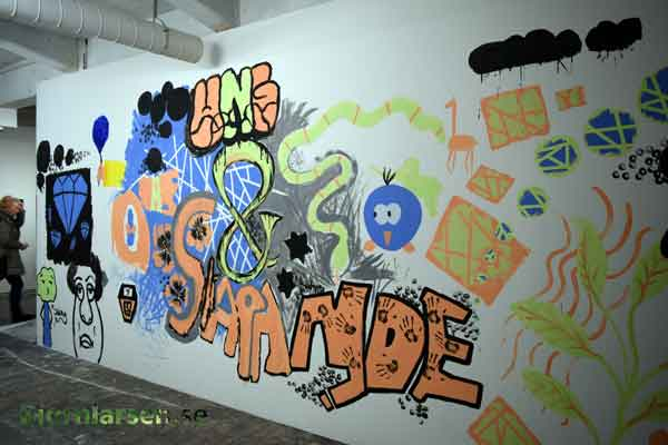 mostly graffitti